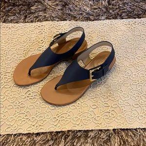 Michael Kors dark blue sandal Size 6 1/2 NWT